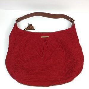 Vera Bradley quilted shoulder handbag